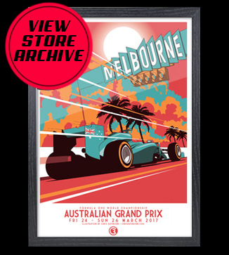 Poster Art store archive by Chris Rathbone